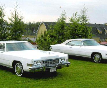 3 Cadillacs Eldorado 1973