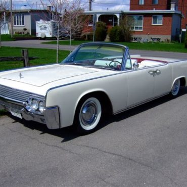 1961 Continental 4 portes convertible
