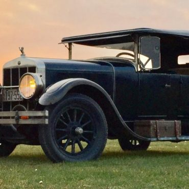 André Audette, Ontario, Franklin Sport Touring 11-A 1926