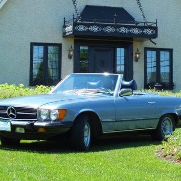 MB 450 SL 1978