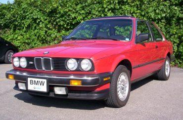 Gilbert Denis, Montréal, BMW 325 es 1986