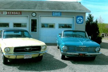 Marcel Gagné, SAint-Vital-de-Clairmont, Mustang coupé 1967 et Plymouth Voliant 1964