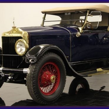 Moon Diana Palm Beach Special Roadster 1927