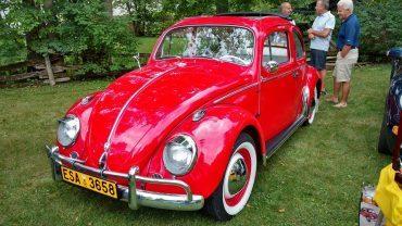 Rejean Rheault, Saint-Rosaire, Volkswagen Beetle rag top 1958