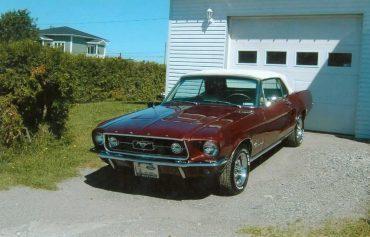 Renald Rémillard, Mustang 1967