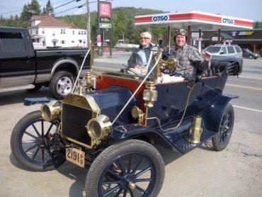 Tom Forsythe, Montréal, Ford Modèle T 1912