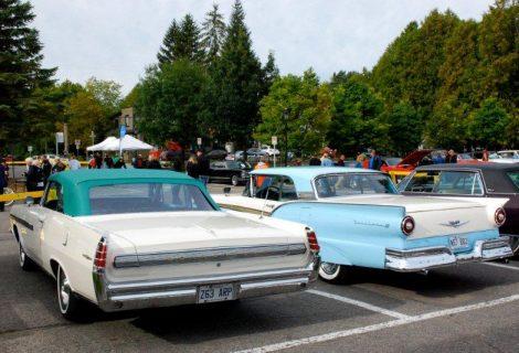 exposition de voitures anciennes de st-sauveur - voitures anciennes