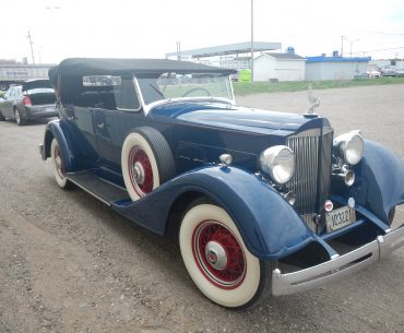 Packard phaeton 1101 1934