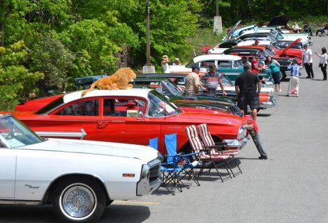 exposition de voitures anciennes de coteau-du-lac - voitures