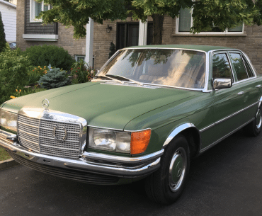 MERCEDES 280 se 1978