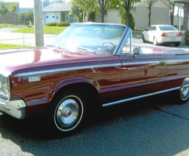DODGE custom 880 1965