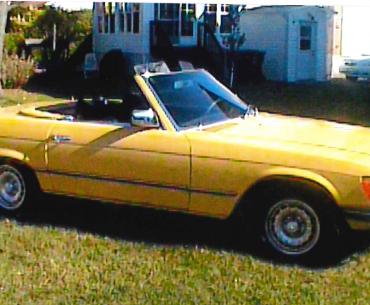 MERCEDES SL 450 1977