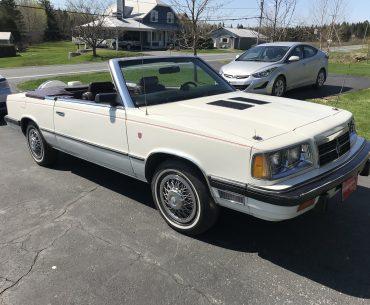 DODGE 600 SE 1986