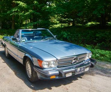 MERCEDES 560 SL 1988