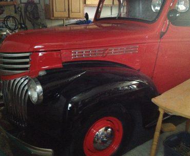 CHEVROLET Camion 1/2 tonne 1946