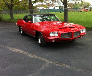 PONTIAC GTO 1971 décapotable