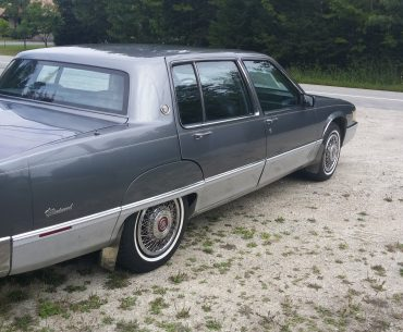 CADILLAC Fleetwood Grand Elegance Gold Edition 1989