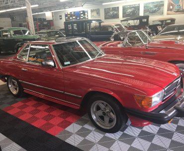 MERCEDES 380 SL AMG 1981
