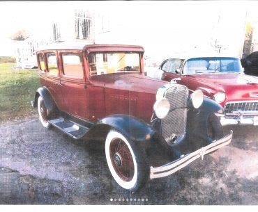 CHEVROLET 1931 sedan 4 portes