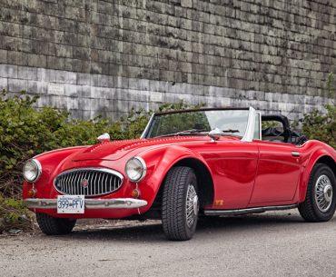 AUSTIN Healey 3000 décapotable 1963