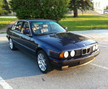 BMW 535 i 3,5 L e-34 1989